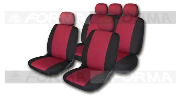 Комплект универсальных чехлов на автомобильные сидения артикул 505